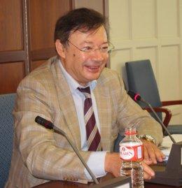Francisco Javier Orduña, magistrado del Supremo, en la UIMP