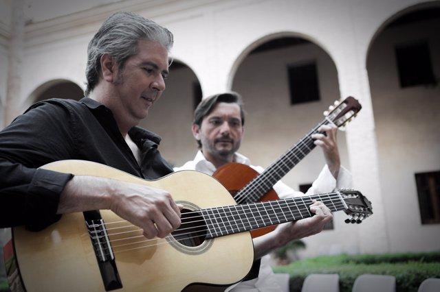 Miguel Ángel Cortés y José María Gallardo