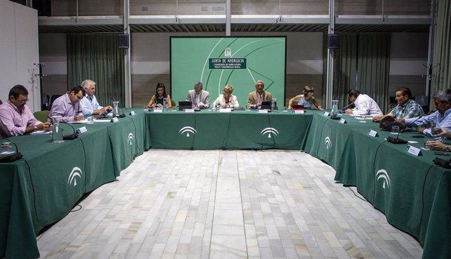 Víboras, con representantes del sector agroalimentario
