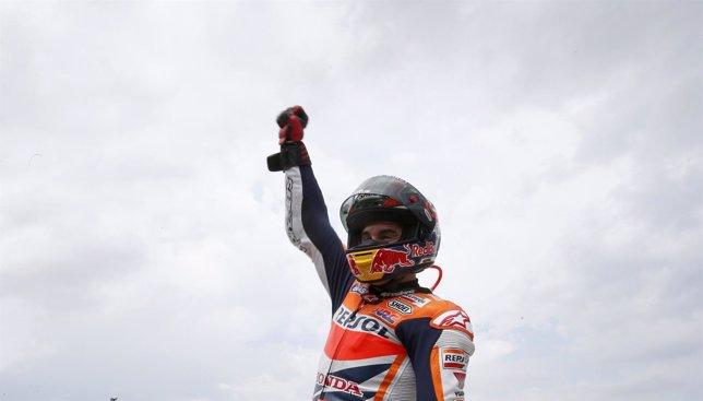 Un Márquez de diez sigue intratable en MotoGP