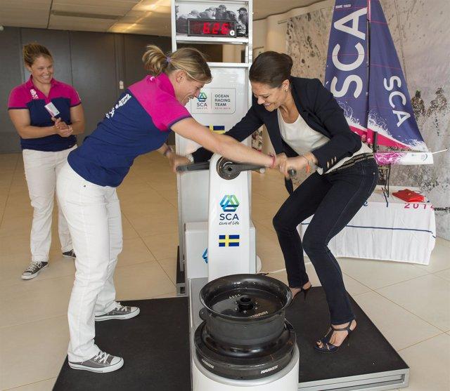 Victoria de Suecia, nombrada madrina del Team SCA