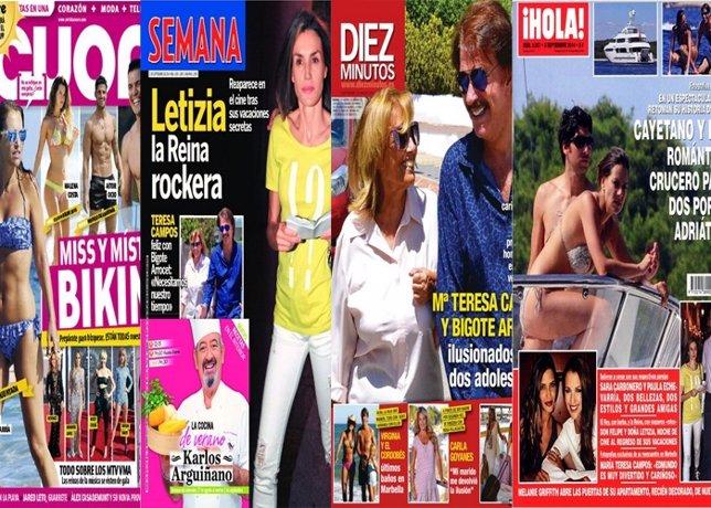Eva González y Cayetano crucero del amor, M. Teresa halaga Bigote, Patiño nariz