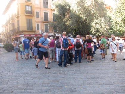 Baleares sufre el mayor retroceso en gasto turístico extranjero, un 4,2% menos