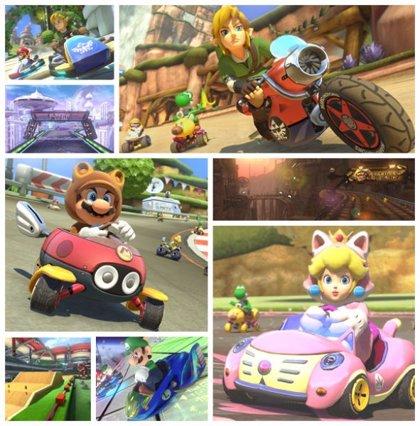 Mario Kart 8 recibirá jugosos DLCs que incluirán a Link (Zelda)