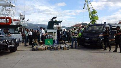 Interceptan un velero con 800 kilos de cocaína con destino a Galicia