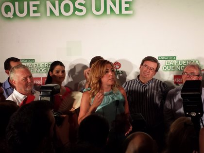 """Susana Díaz: """"Los partidos tiene que luchar de verdad contra la corrupción y cuando el PP quiera, ahí me va a encontrar"""""""