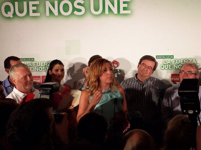 Susana Díaz en la Feria de ALmería