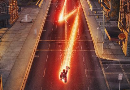 Espectacular cartel promocional de The Flash