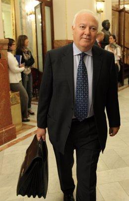 Moratinos en la sesión de control al Gobierno