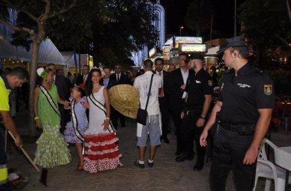 Detenidos tres menores por atraco en la feria de Almería