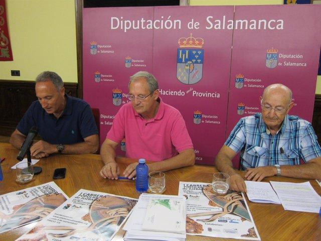 Presentación de la carrera en el Palacio de La Salina de Salamanca