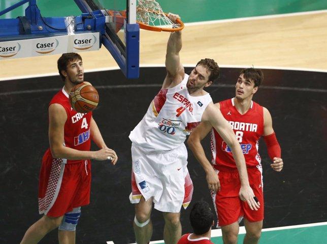 Pau Gasol ante Croacia