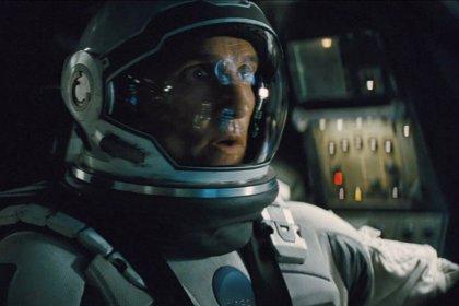 Anuncio en IMAX de Interstellar, Matthew McConaughey busca una salvación