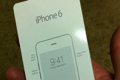 La guía del iPhone 6 confirma su lanzamiento