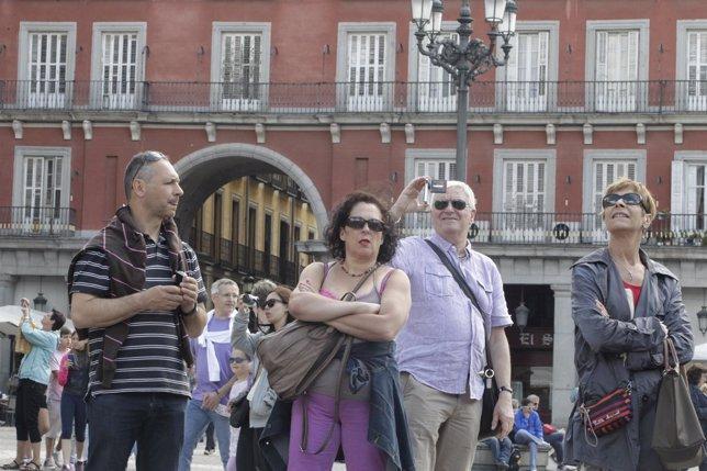 Turistas, turismo, extranjeros