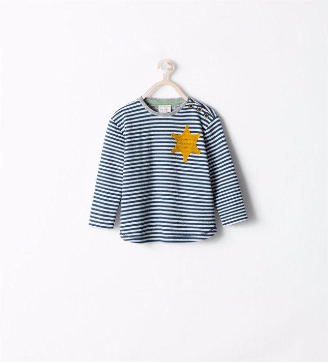Camiseta de rayas de Zara