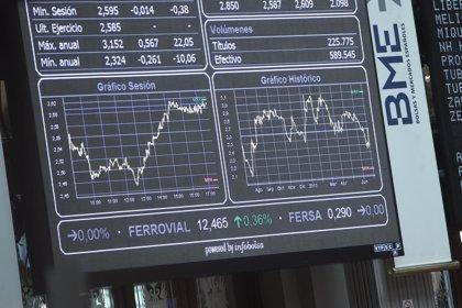 El Ibex pierde fuerza en su ascenso y se estanca en los 10.800 enteros