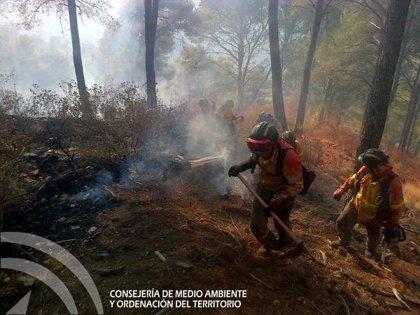 Siete imputados por el incendio de los Montes de Málaga