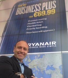 Kenny Jacobs, responsable de marketing de Ryanair