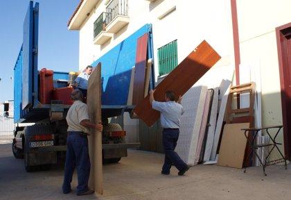 Promedio recoge más de 1.600 toneladas de enseres durante 2013