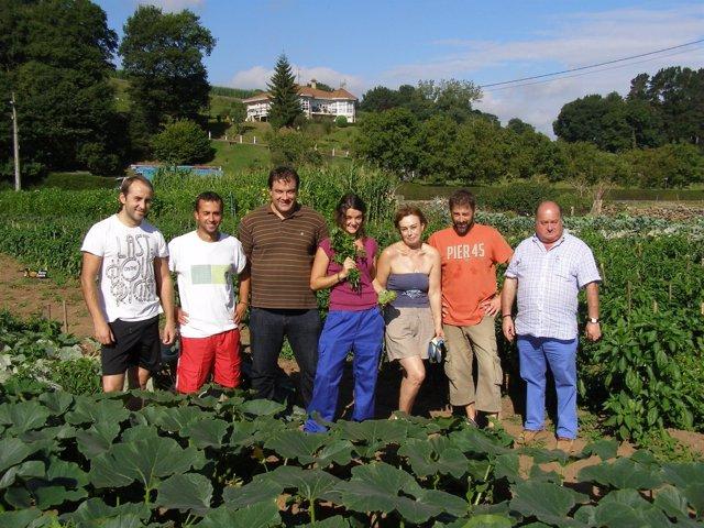 Parte del equipo del proyecto 'Cultivar la Tierra'