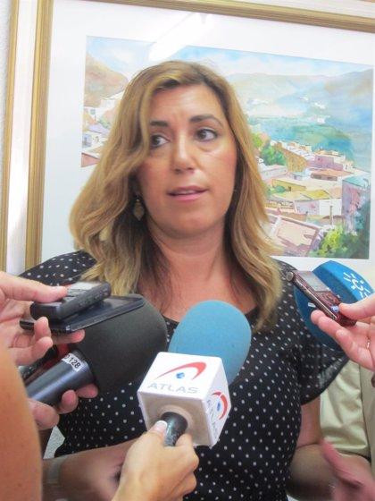La presidenta defiende opinar sobre Rajoy y su compromiso andaluz
