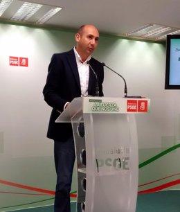 Francisco Conejo, secretario Política Institucional del PSOE-A