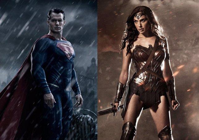 Superman y Wonder Woman