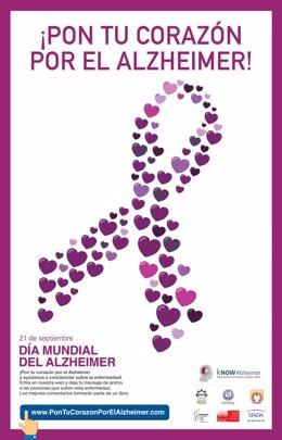 Campaña 'Pon tu corazón por el Alzheimer'