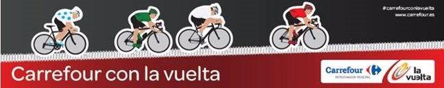 Carrefour carteles Vuelta Ciclista 2014