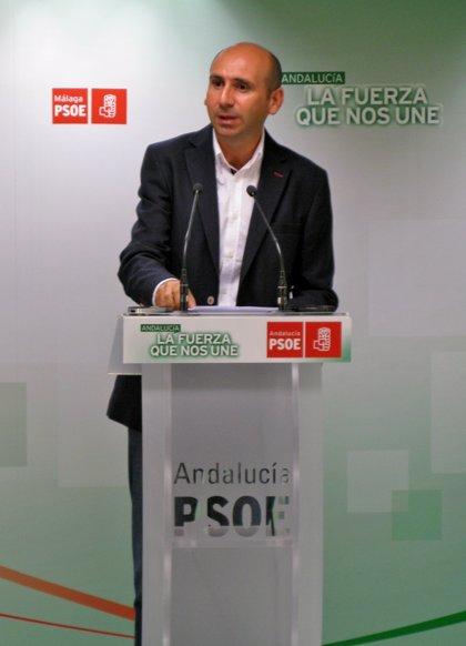 """El PSOE andaluz exige a Soria """"un compromiso por escrito y vinculante"""" de que no habrá prospecciones de gas en Málaga"""