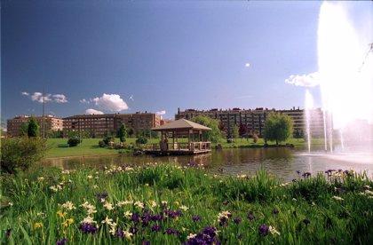 Pamplona realiza trabajos de mejora del parque de Yamaguchi