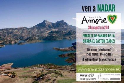 La 'I Travesía a nado Proyecto Amore' en Zahara de la Sierra agota sus plazas con más de 300 inscritos