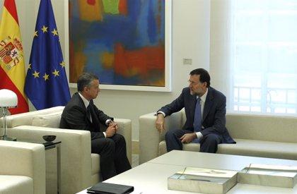Rajoy comunicó la pasada semana a Urkullu su interés por reunirse con él, pero aún no hay fecha