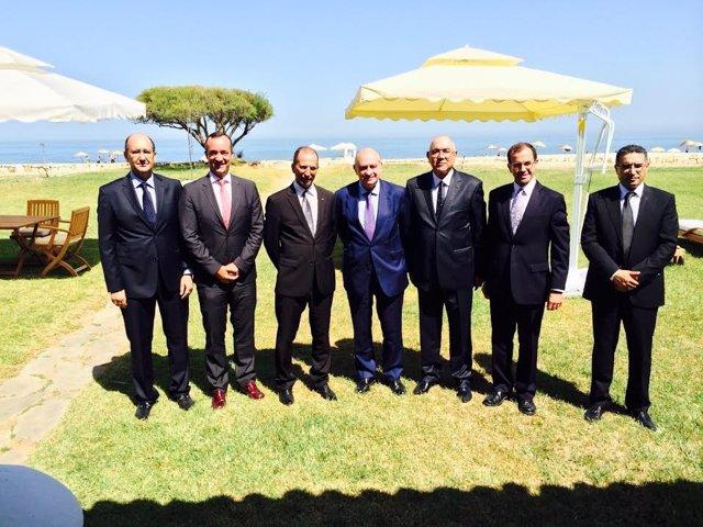 Reunión de las cúpulas de Interior de España y Marruecos