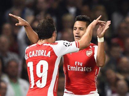 (Crónica) El Arsenal se mete en la fase de grupos de la 'Champions'