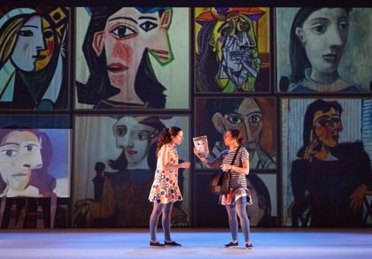 La compañía cántabra Ruido Interno participa este jueves en la Feria de Teatro de Ciudad Rodrigo con 'Pinta, pinto'