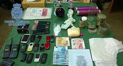 Trece detenidos por tráfico de cocaína en Málaga