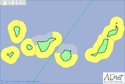 El riesgo amarillo por fenómenos costeros concluirá este jueves