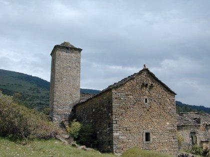 Comienzan las obras de rehabilitación de la iglesia de San Miguel de la localidad de Otal