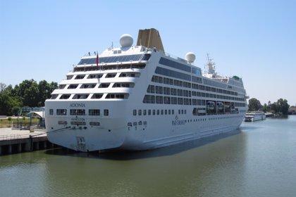El crucero 'Adonia' hará su segunda escala este año en el puerto