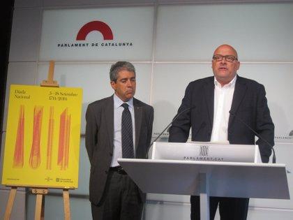 """Govern y Parlament introducen cambios en los actos de la Diada por ser un año """"excepcional"""""""