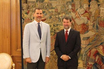 Felipe VI retoma su agenda tras las vacaciones recibiendo en audiencia al investigador Pedro Alonso