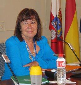 Cristina Narbona en la UIMP