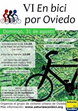 VI En bici por Oviedo
