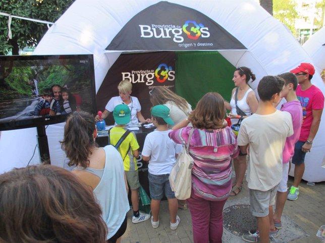 La provincia de Burgos se promocionará en Aragón