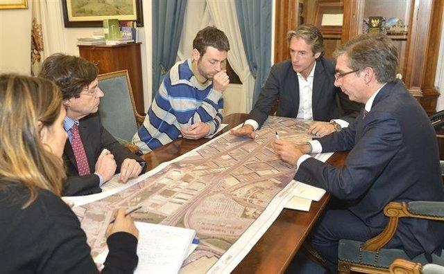 Reunión con Cantabria con Bici para explicarles el proyecto (Archivo)