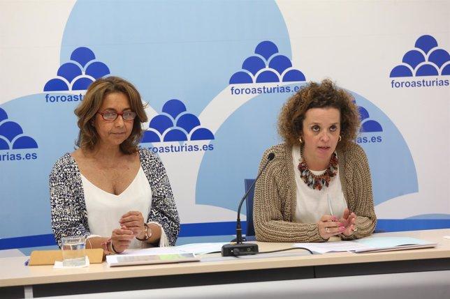 Marian García de la Llana y Marina Huerta