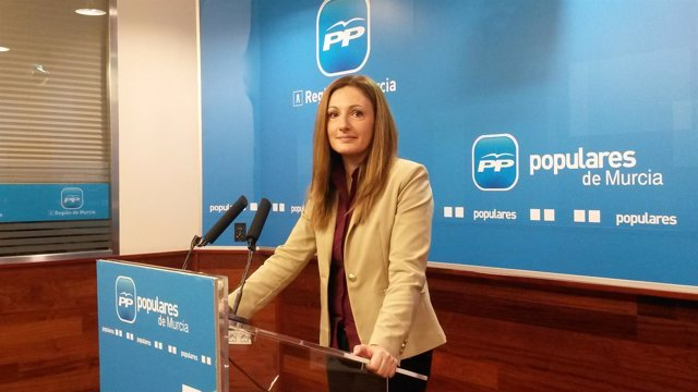 La diputada nacional del PP por Murcia en el Congreso María Ascensión Carreño