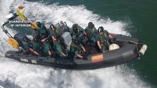 Dispositivo de la Guardia Civil para el Mundial de Vela